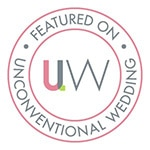 Proud to have my work published by Unconventional Wedding